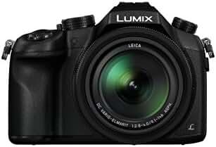 Panasonic LUMIX DMC-FZ1000 Camera, 21.1 Megapixel, 1-inch Sensor, 4K Video, Leica Lens 16X F2.8-4.0 Zoom (Black)