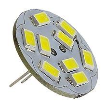 LDZ G4 4W 400-430LM 6000-6500K Natural White Light Vertical Pin LED Spot Bulb (12V)