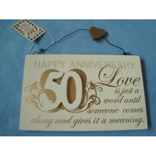 Golden Wedding Gift Ideas Uk: Golden Wedding Anniversary Gifts: Amazon.co.uk