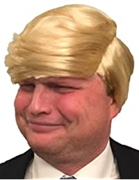 Hilarious Donald Trump Wig with USA SUNGLASSES and COMB