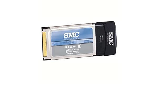 SMCWCBT-G 108MBPS WLAN CARDBUS DRIVERS DOWNLOAD (2019)