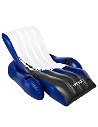"""Intex Floating Recliner Inflatable Lounge, 71"""" X 53"""""""