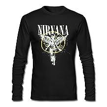 Nirvana Grunge Rock Band Kurt Cobain Man's Long Sleeve Shirts