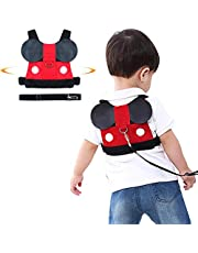 Jolik Toddler Anti-Lost Walking Safety Harness with Leash Cute Baby Strap Backpack for 1-5 Years Boys and Girls