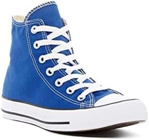 Converse Chuck Taylor All Star Unisex Hi-Top Casual Shoe (Dazzling Blue, 9.5 D(M) US/ 11.5 B(M) US )
