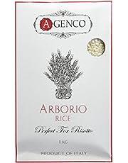 A.Genco Importing Artisanal Italian Arborio Rice, 1 kg