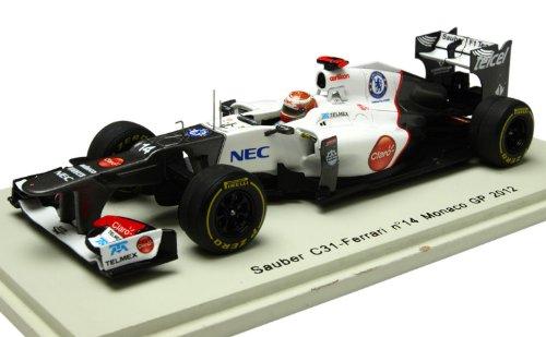 Sauber C31 No. 14 Kamoi Kobayashi Monaco GP 2012