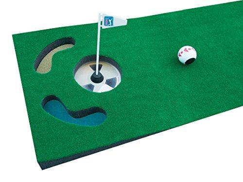 2465803-PGA-Tour-Tappetino-da-allenamento-da-183-cm-con-pallina-guida-e-consig miniatura 4