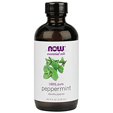 NOW Foods Essential Oils Peppermint -- 4 fl oz (118 ml)