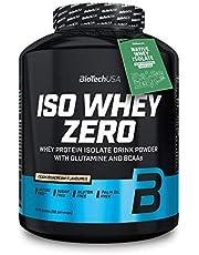 BioTechUSA Iso Whey Zero Premium Proteïnepoeder van Native Whey Isolaat verrijkt met L-glutamine en BCAA, palmolie- en aspartamvrij, 2270 g, Cookies & Cream