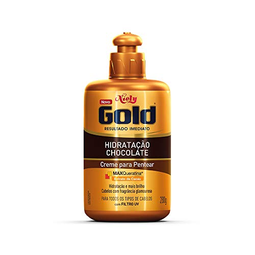 Gold Creme Pentear Chocolate Niely