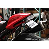 1994-2008 Ducati Monster Sequential LED Tail Light Clear Lens