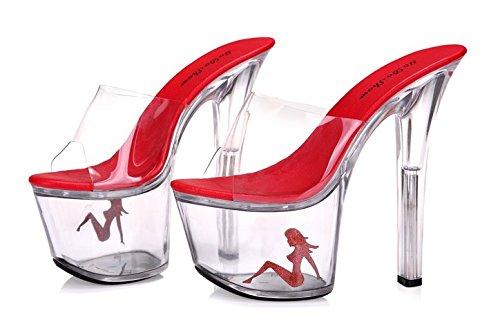 17 17 17 zentimeter crystal schuhe high heels high heels transparente nacht speichern b14a6e