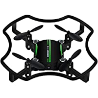 Owill Mini Drone Aititude Hold Quadcopter 2.4G 4CH 6Axis RC Helicopter With Led Light (Green)
