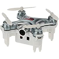 Cheerson CX-10WD-TX Mini Wifi FPV Drone With Camera Live Video 3D Flips High Hold Mode One Key Return IOS / Android APP Wifi Romote ControlRC Nano Quadcopter Grey