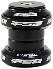 FSA Orbit MX 1-1/8Inches Threadless MTB Road Headset with Top Cap, Black, NO.20, XTE1504
