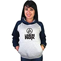 Moletom Canguru Feminino Raglan Linkin Park ER_069