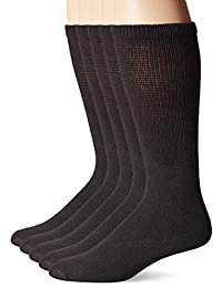Happy Foot Men's King Size 5 Pair Happy Foot Health Sock