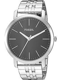 Fossil Men's Quartz Stainless-Steel Strap, Silver, 22 Casual Watch (Model: BQ2312
