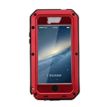 R MAO-Aluminum Metal Case for iPhone 4/4S,[Military Heavy Duty]Extreme Waterproof Shock/Dust/Dirt/Snow Proof Gorilla Glass Protection Cover Case