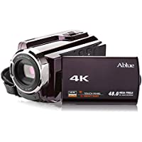Camcorders, Ablue 4K Ultra-HD Portable 30FPS WIFI Digital Video Camera, IR Night Vision Camcorder