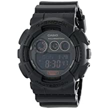 "Casio - Men's G-Shock - ""Military Black Series"" - Black - GD120MB-1"