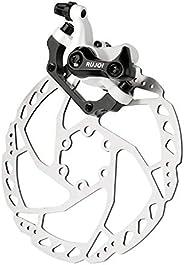 RUJOI Bike Disc Brake Kit,1pcs Tool-Free Mechanic Disc Caliper with Brake pad Included Inside,1Pcs 160mm Dsic