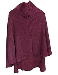 Wool Cape Coat Soft & Light Lambswool Blend Irish Made