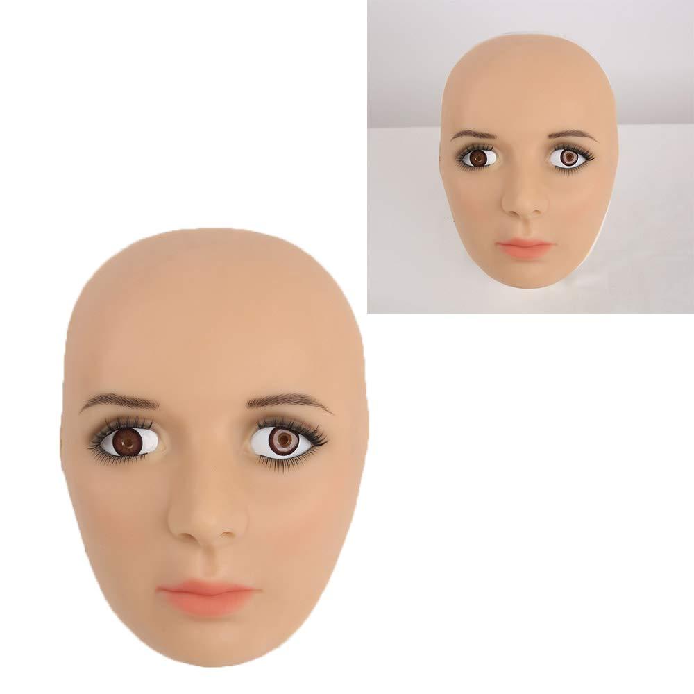 Crossdresser Silikon Parodie Maske Sexy für Transgender Shemale Simulation Homosexuell Rollenspiel Dress Up für Mann mit Halben Kopf B07KPKKWKD Masken für Erwachsene Clever und praktisch  | Wirtschaft