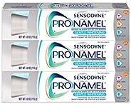 Sensodyne Pronamel Gentle Whitening Enamel Toothpaste for Sensitive Teeth, Alpine Breeze - 4 Ounces (Pack of 3)