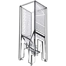Eppendorf 952010069 Plastic 80 Disposable Cuvette for Spectrophotometers, 220nm to 1,600nm Transparency Range (Pack of 200)