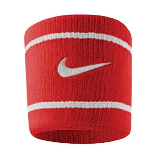 Munhequeira Pequena Dri-Fit Wristband, Único, Vermelho