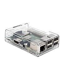 SB Componentes Raspberry Pi 3funda transparente–acceso a todos los puertos