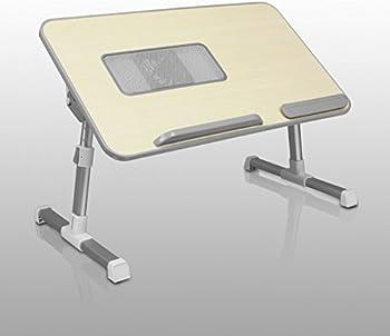 Aluratek Adjustable Ergonomic Laptop Cooling Table
