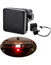 """iJDMTOY 12-LED Super Bright Brake Light Trailer Hitch Cover Fit Towing & Hauling 2"""" Standard Size Receiver"""