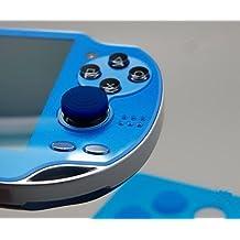 Gametown® Sony PS Vita PSV PSVita Button Protectors Thumbstick Joysticks Pad Cover Case Blue