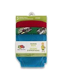 Fruit of the Loom Boys Boys Toddler Training Pants 3-Pack Training Pants