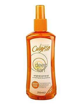 huile de carotte bronzage