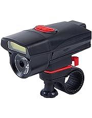 LED Fahrradlampe Set, Nourich Wasserdicht LED 6 Modi AAA Fahrradleuchte Fahrradbeleuchtung, Fahrradlampe Fahrradlicht, Scheinwerfer Rücklicht, Aufladbare Fahrradlichter Licht Lamp