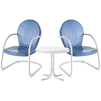 Amazon Com Crosley Furniture Griffith 3 Piece Metal