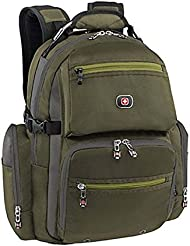 SwissGear Swiss Gear Breaker Olive Polyester 16-inch Laptop Backpack