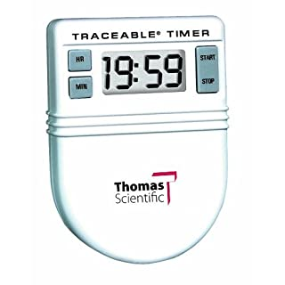 "Thomas 5046 Clip It Timer, 0.01 Percent Accuracy, 1-1/2"" Width x 2"" Height x 3/4"" Depth"