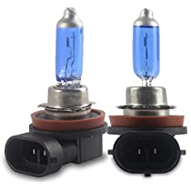 Safego 2x H7 H4 H11 Halogen Xenon Light Bulb Super Bright Warm White 60W/55W For Car Auto Headlight 4300K - 5000K 12V