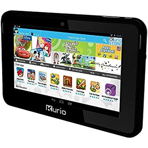 KURIO 7S Kids 7 Tablet with Android 4.2 & 8GB Memory(Black)- Refurbished Coupons