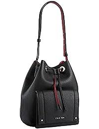 Womens Kira Drawstring Bucket Bag
