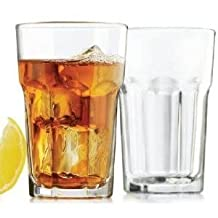 LIB15238 - Libbey Gibraltar Glass Tumblers, Beverage, 12oz, 4 7/8 Tall by Libbey