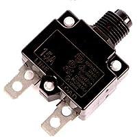Heat Surge Roll N Glow Fireplace Reset Buttom 15 AMP Circuit Breaker (Black Generic) by Heat Surge