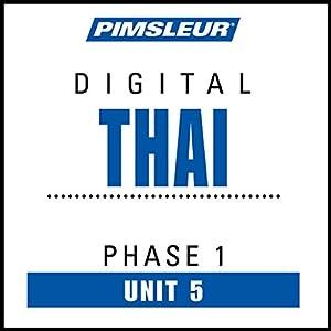 Thai Phase 1, Unit 05 Audiobook