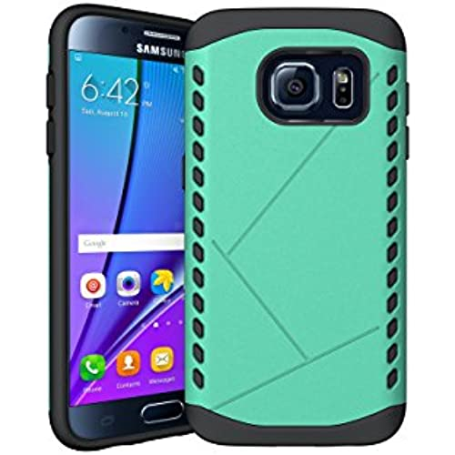 Galaxy S7 Case, KAMII [Drop Protection] Dual Layer Hard PC Cover + TPU Silicone Hybrid [Shock-absorption] Bumper Sales