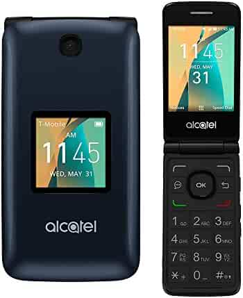 Alcatel Cingular Flip 2 4G LTE Flip Phone Bluetooth WIFI MP3 Camera Good for Elderly - AT&T